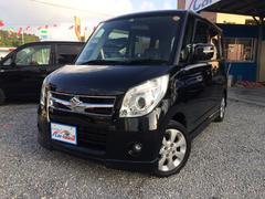 沖縄の中古車 スズキ パレット 車両価格 47万円 リ済込 平成20年 11.5万K ブルーイッシュブラックパール3