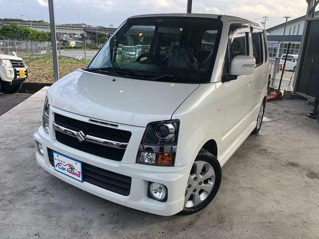 沖縄の中古車 スズキ ワゴンR 車両価格 32万円 リ済込 2008(平成20)年 10.7万km パールホワイト