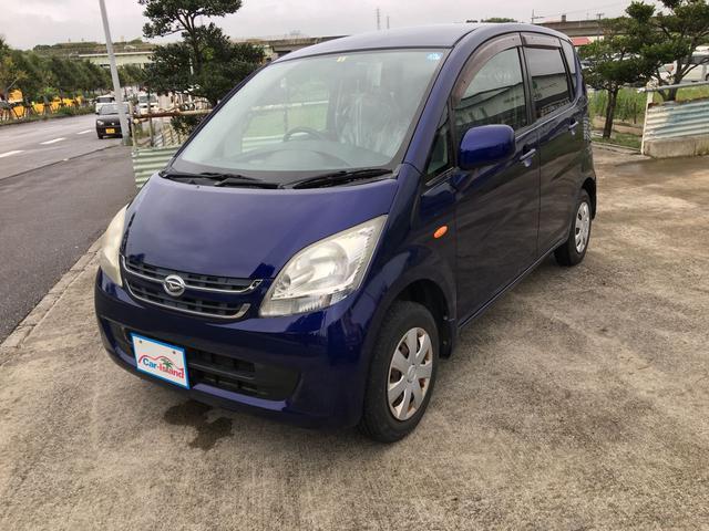 沖縄の中古車 ダイハツ ムーヴ 車両価格 25万円 リ済込 2008(平成20)年 9.3万km ブルーIII