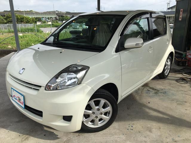 沖縄の中古車 トヨタ パッソ 車両価格 34万円 リ済込 2008(平成20)年 6.8万km パールホワイトI