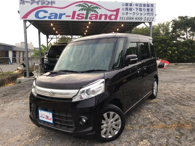 沖縄県の中古車ならスペーシアカスタム XS フルセグナビTVUSB付 電動スライドドア