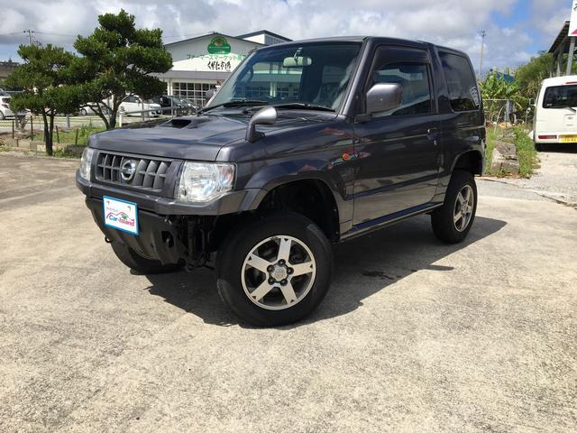 沖縄県の中古車ならキックス RX2インチリフトアップ CDDVDワンセグ 2WD4WD