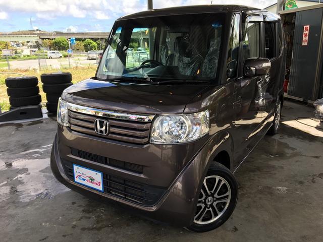 沖縄の中古車 ホンダ N-BOX 車両価格 79万円 リ済込 2013(平成25)年 8.0万km プレミアムブロンズパール