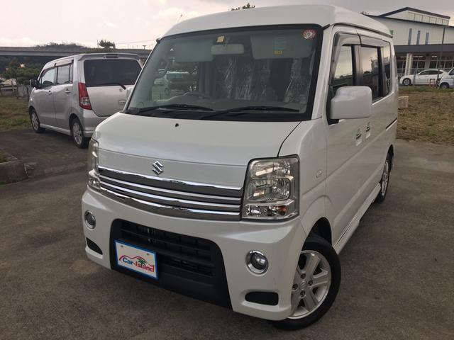 沖縄の中古車 スズキ エブリイワゴン 車両価格 66万円 リ済込 2012(平成24)年 12.1万km パールホワイト