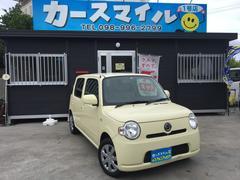 沖縄の中古車 ダイハツ ミラココア 車両価格 33.8万円 リ済込 平成23年 11.2万K コットンアイボリー