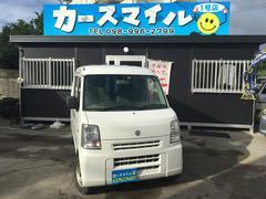 沖縄の中古車 スズキ エブリイ 車両価格 37.8万円 リ済込 平成24年 10.4万K スペリアホワイト