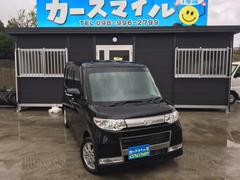 沖縄の中古車 ダイハツ タント 車両価格 42.8万円 リ済込 平成22年 11.7万K ブラックマイカ