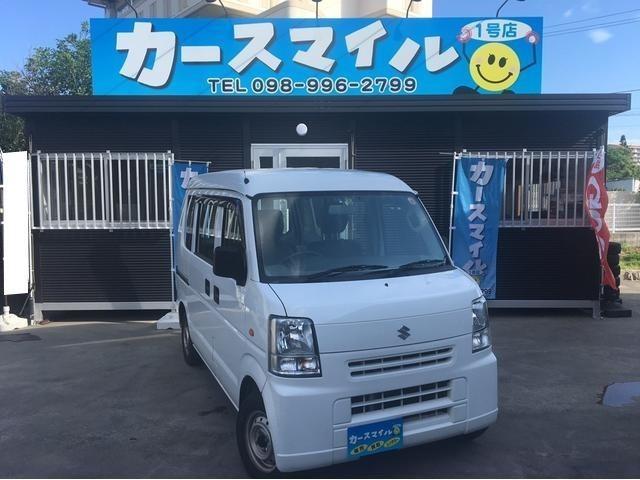 沖縄の中古車 スズキ エブリイ 車両価格 37.8万円 リ済込 平成24年 11.4万km ホワイト