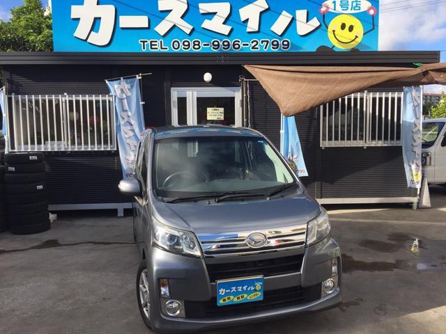 沖縄の中古車 ダイハツ ムーヴ 車両価格 47.8万円 リ済込 2013(平成25)年 9.4万km タングステングレーメタリック