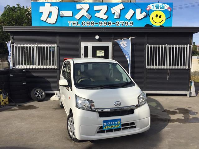 沖縄の中古車 ダイハツ ムーヴ 車両価格 31.8万円 リ済込 2014(平成26)年 11.4万km ホワイト