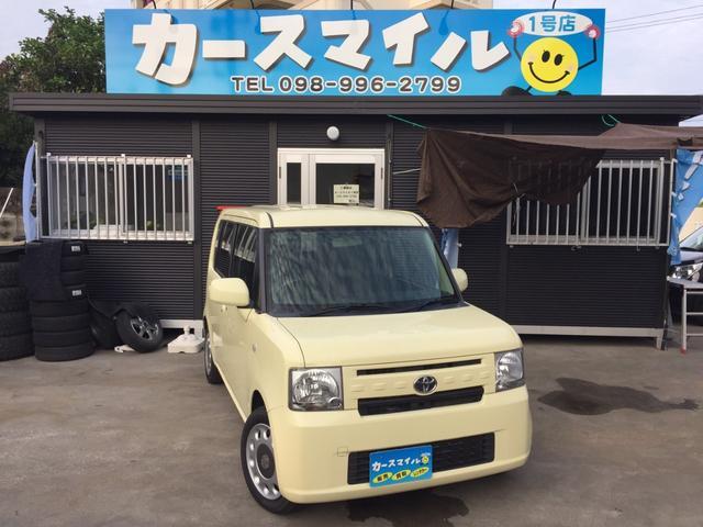 沖縄の中古車 トヨタ ピクシススペース 車両価格 42.8万円 リ済込 2015(平成27)年 9.6万km コットンアイボリー