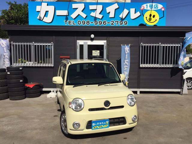沖縄の中古車 ダイハツ ミラココア 車両価格 39.8万円 リ済込 2012(平成24)年 8.5万km コットンアイボリー