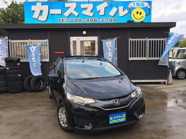 沖縄県糸満市の中古車ならフィット 13G・Fパッケージ  2年保証込 スマートキー ナビ