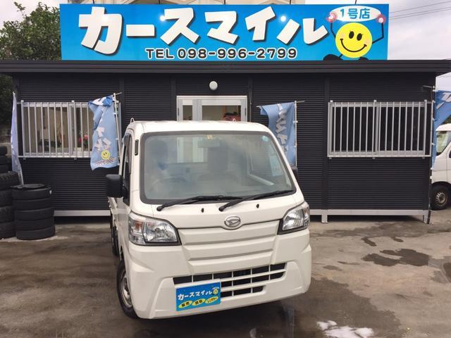 沖縄の中古車 ダイハツ ハイゼットトラック 車両価格 54.8万円 リ済込 2015(平成27)年 7.8万km ホワイト