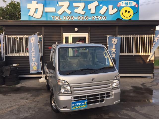 沖縄の中古車 スズキ キャリイトラック 車両価格 49.8万円 リ済込 2014(平成26)年 10.3万km シルバー