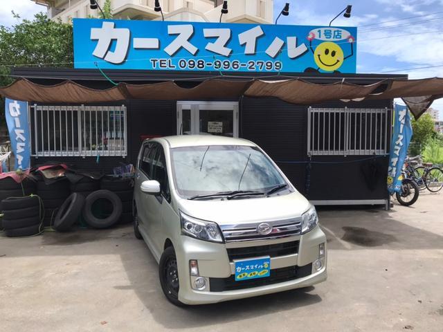 沖縄の中古車 ダイハツ ムーヴ 車両価格 44.8万円 リ済込 2013(平成25)年 11.5万km シャンパンゴールドメタリックII