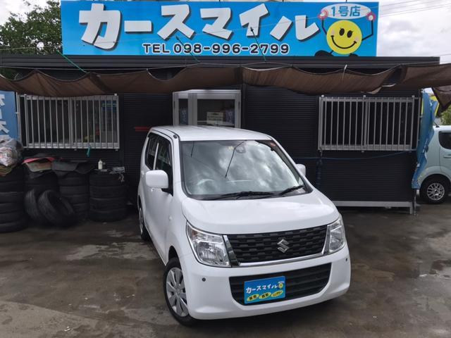 沖縄県の中古車ならワゴンR FX 衝突被害軽減ブレーキ ナビ アイドリングストップ