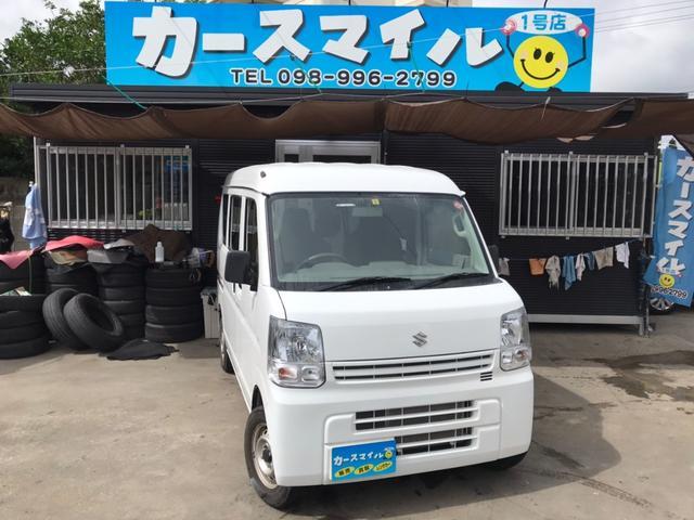沖縄県糸満市の中古車ならエブリイ PA 走行1万キロ台 5速オートマ エアコン パワステ