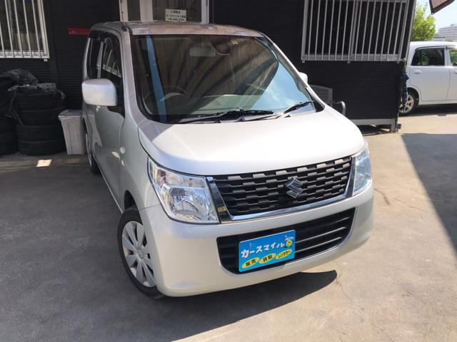 沖縄県糸満市の中古車ならワゴンR FX 衝突被害軽減ブレーキ付 ナビ TV ETC