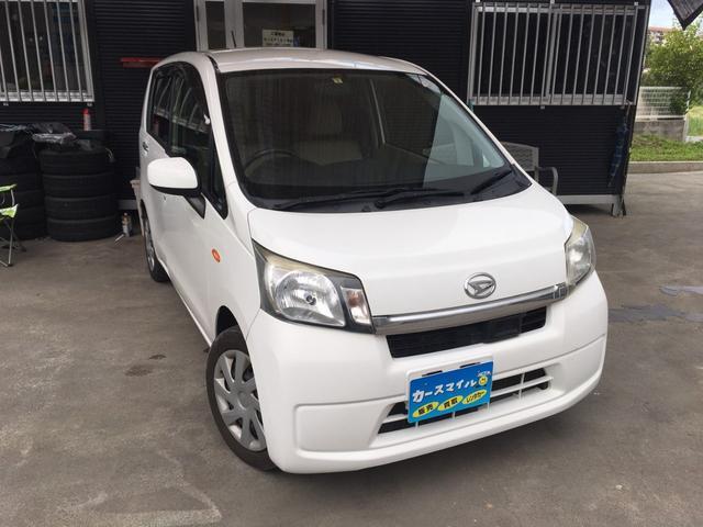 沖縄の中古車 ダイハツ ムーヴ 車両価格 34.8万円 リ済込 2013(平成25)年 11.5万km ホワイト