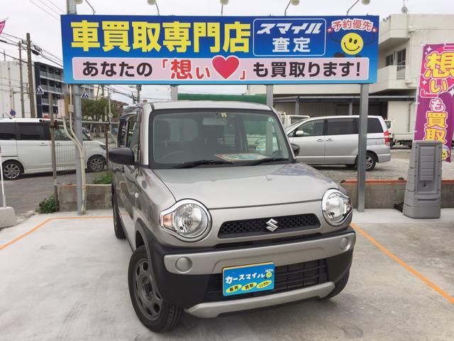 沖縄県の中古車ならハスラー A 下取り2万円保証! キーレス ETC ABS 低走行4万km台 人気色