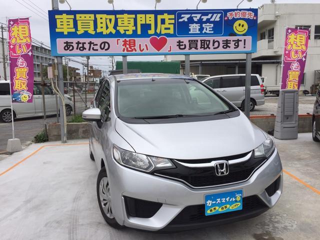 沖縄県の中古車ならフィット 13G・Fパッケージ スマートキー プッシュスタート ETC スペアキー