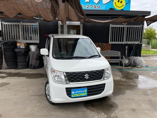 沖縄の中古車 スズキ ワゴンR 車両価格 37.8万円 リ済込 2015(平成27)年 11.8万km ホワイト