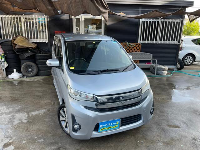沖縄県糸満市の中古車ならeKカスタム T 下取り2万円保証! Bluetooth ナビ TV バックカメラ ETC