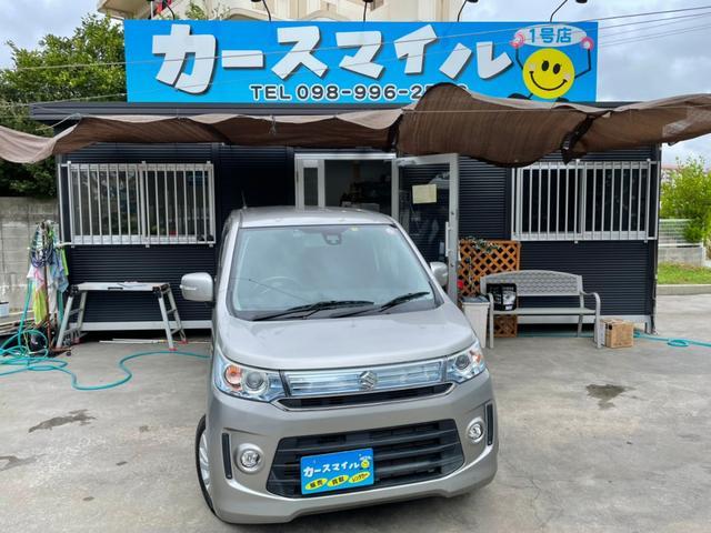 沖縄県糸満市の中古車ならワゴンRスティングレー X 下取り2万円保証 純正9インチナビ バックモニター Bluetoothオーディオ TV スマートキー スペアキー プッシュスタート