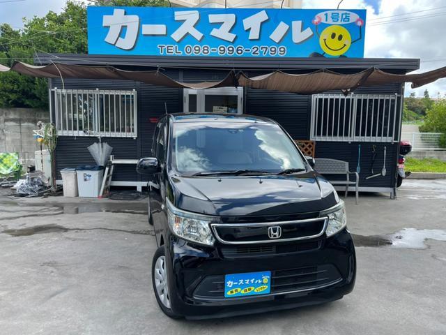 沖縄県の中古車ならN-WGN G 下取り2万円保証 衝突被害軽減ブレーキ ナビ スマートキー プッシュスタート