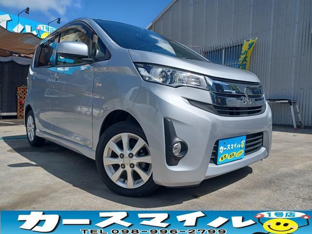 沖縄県の中古車ならeKカスタム M キーレス AUX端子付オーディオ 本土中古車