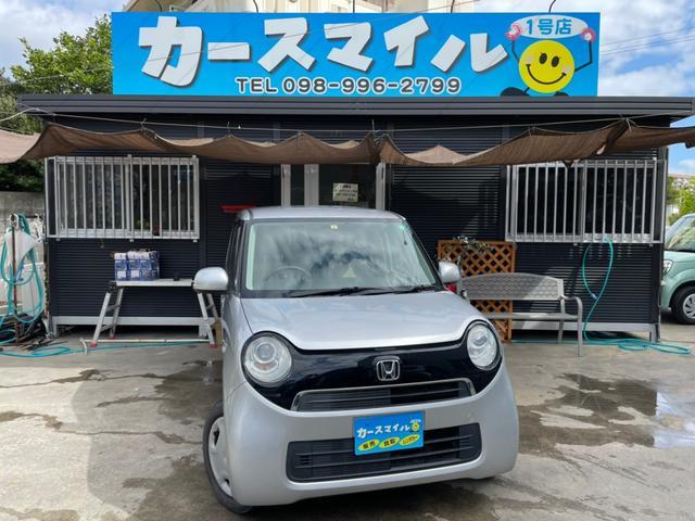 沖縄の中古車 ホンダ N-ONE 車両価格 41.9万円 リ済込 2014(平成26)年 10.0万km アラバスターシルバーメタリック