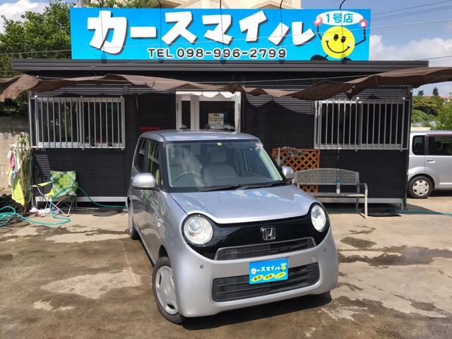 沖縄県の中古車ならN-ONE G 社外ナビ DVD スマートキー プッシュスタート スペアキー ETC