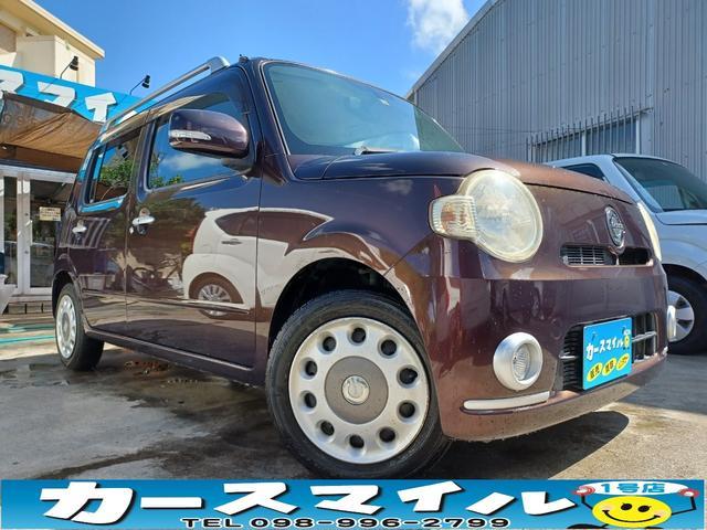 沖縄の中古車 ダイハツ ミラココア 車両価格 34.8万円 リ済込 2010(平成22)年 10.5万km プラムブラウンクリスタルマイカ