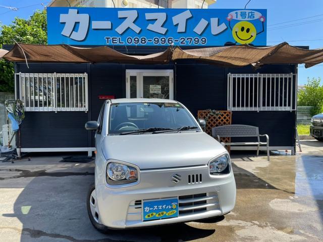沖縄県糸満市の中古車ならアルト L 走行1万キロ台 アイドリングストップ キーレス AUX端子付きオーディオ CD