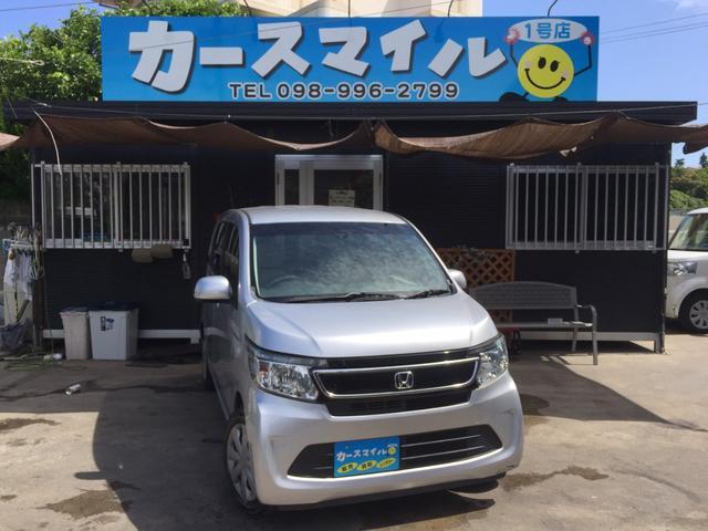 沖縄県糸満市の中古車ならN-WGN G 社外ナビ バックモニター スマートキー プッシュスタート アイドリングストップ スペアキー