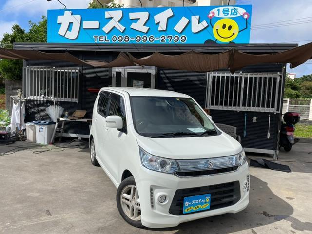 沖縄県糸満市の中古車ならワゴンRスティングレー T ナビ スマートキー プッシュスタート