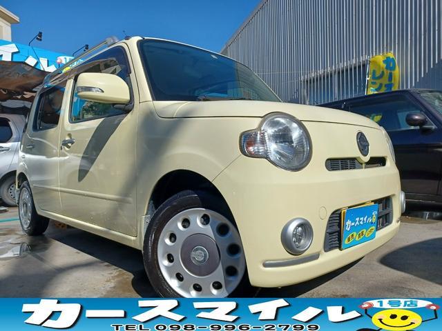 沖縄の中古車 ダイハツ ミラココア 車両価格 32.8万円 リ済込 2011(平成23)年 11.1万km コットンアイボリー