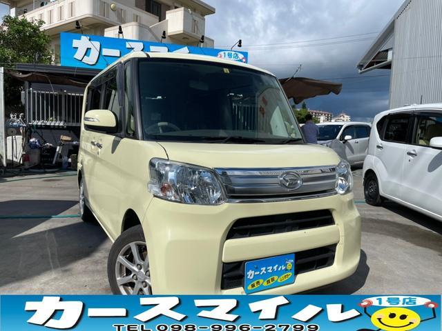 沖縄県糸満市の中古車ならタント G 社外ナビ TV 両側パワースライドドア ETC スマートキー スペアキー プッシュスタート