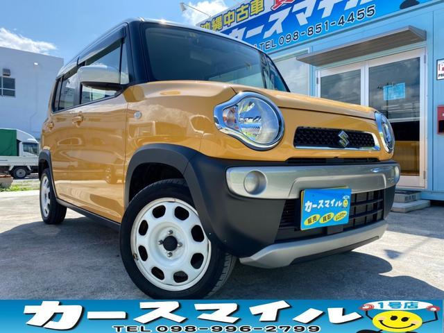 沖縄県の中古車ならハスラー G 衝突被害軽減ブレーキ 社外ナビ Bluetooth TV バックモニター ETC 買取直販車