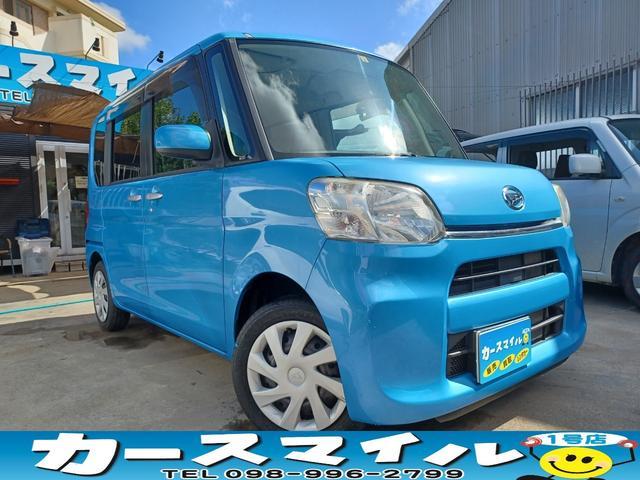 沖縄県の中古車ならタント L 両側スライドドア エコアイドル キーレス