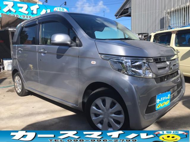 沖縄の中古車 ホンダ N-WGN 車両価格 44.8万円 リ済込 2016(平成28)年 10.5万km ルナシルバーメタリック