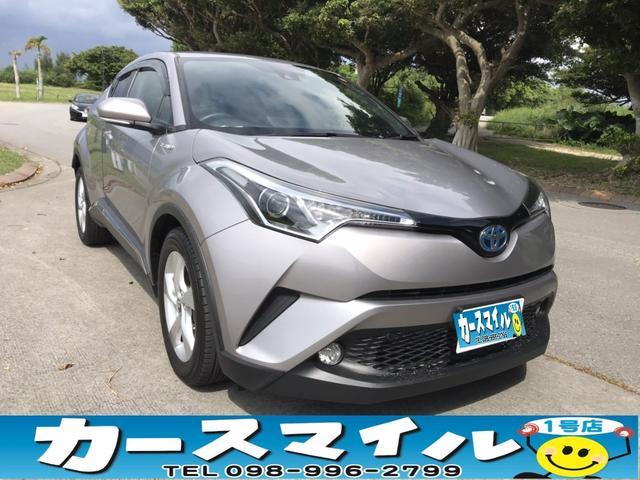 沖縄県の中古車ならC-HR S 衝突被害軽減ブレーキ ナビ バックモニタ  Bluetoothオーディオ TV スマートキー プッシュスタート ETC