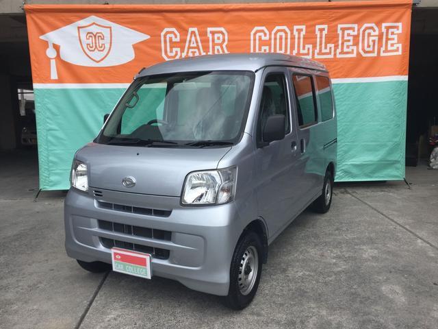 沖縄の中古車 ダイハツ ハイゼットカーゴ 車両価格 65万円 リ済別 2015(平成27)年 5.9万km シルバー