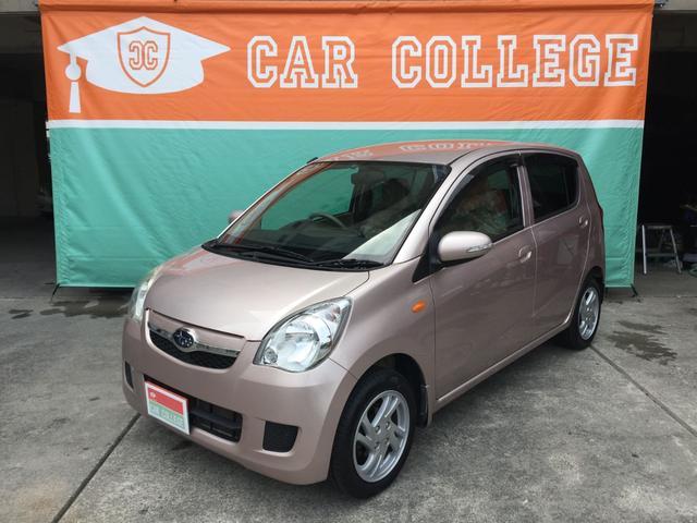 沖縄の中古車 スバル プレオ 車両価格 45万円 リ済別 2012(平成24)年 6.7万km ピンク