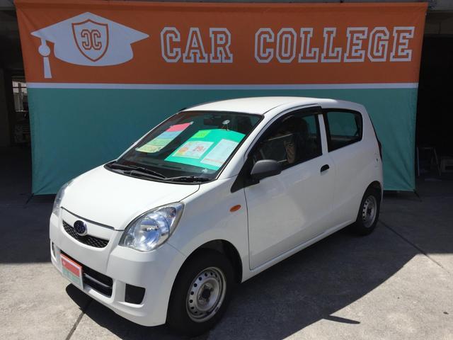 沖縄の中古車 スバル プレオ 車両価格 29万円 リ済別 2013(平成25)年 5.1万km ホワイト