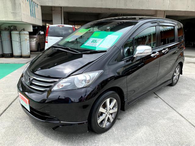 沖縄の中古車 ホンダ フリード 車両価格 65万円 リ済別 2011(平成23)年 8.9万km ブラックM