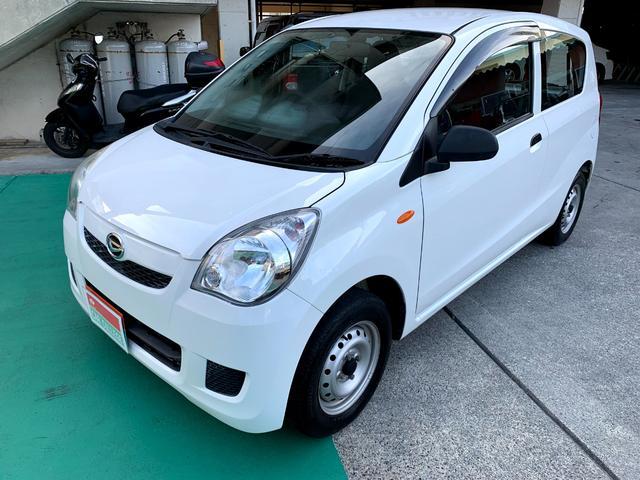 沖縄の中古車 ダイハツ ミラ 車両価格 29万円 リ済別 2014(平成26)年 5.9万km ホワイト