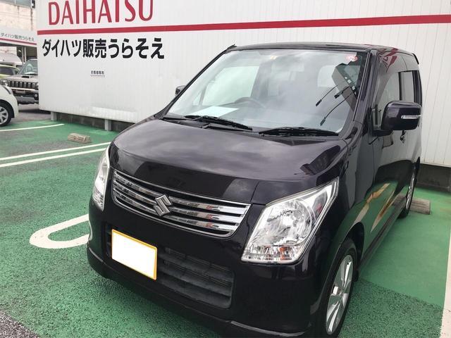 沖縄県の中古車ならワゴンR 軽自動車 ミステリアスバイオレットパール CVT AC AW