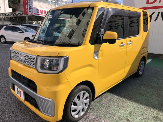沖縄の中古車 ダイハツ ウェイク 車両価格 90万円 リ済込 2014(平成26)年 2.9万km イエロー
